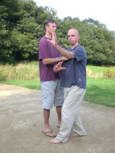Paul and Energy Arts Instructor Peter Jenkins