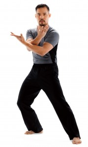 Dr Mark Cheng performing Tai Chi